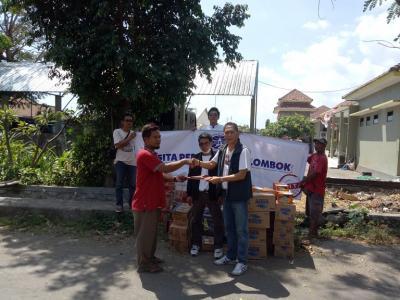 ASITA BALI CARES FOR EARTHQUAKE LOMBOK